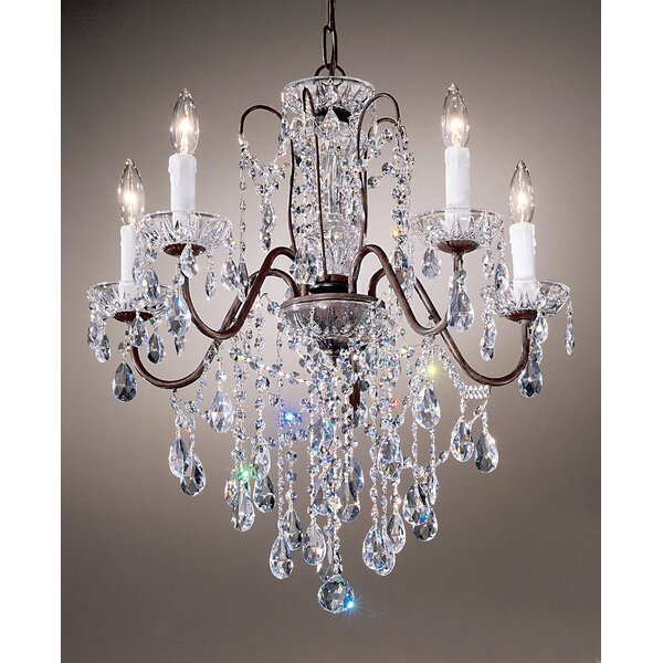 Letitia 5-Light Candle Style Classic / Traditional Chandelier By House Of Hampton