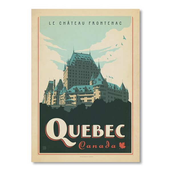 Quebec Vintage Advertisement by East Urban Home