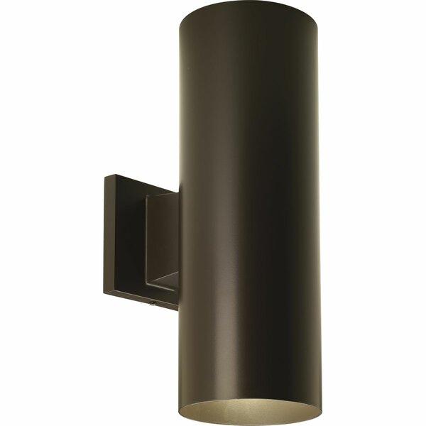 Everts Cylinder 2-Light Outdoor Sconce By Brayden Studio