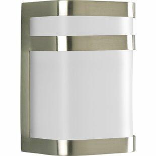 Top Wyche Modern 1-Light Flush Mount By Brayden Studio