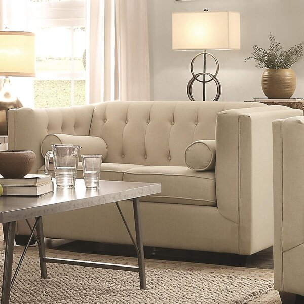 Wetherell Designed Loveseat by Canora Grey
