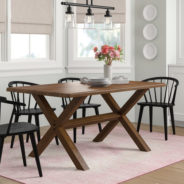Modern Montauk Solid Wood Dining Table By Grain Wood Furniture No Copoun