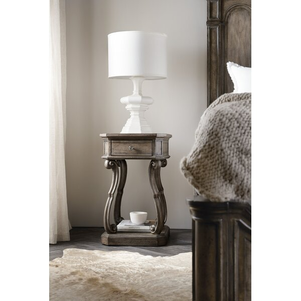 Woodlands 1 Drawer Nightstand by Hooker Furniture