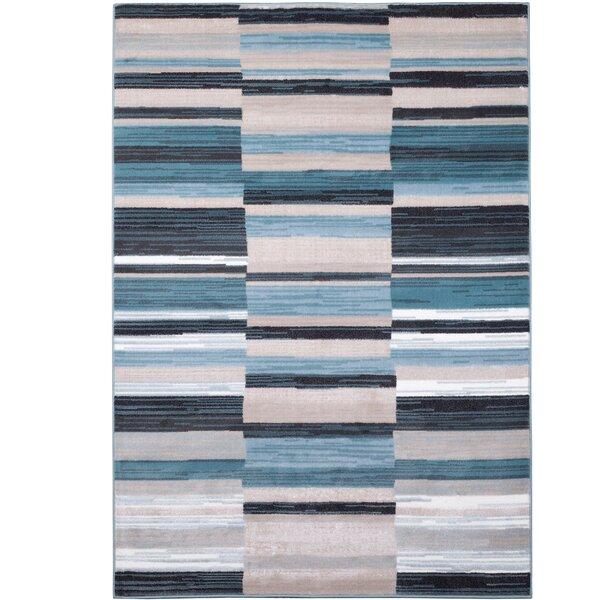 Dexter Blue/Gray Area Rug by Latitude Run