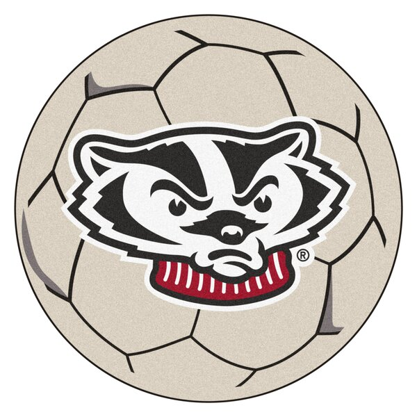 NCAA University of Wisconsin Soccer Ball by FANMATS