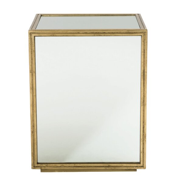 Jet Set Mirrored End Table by Bernhardt