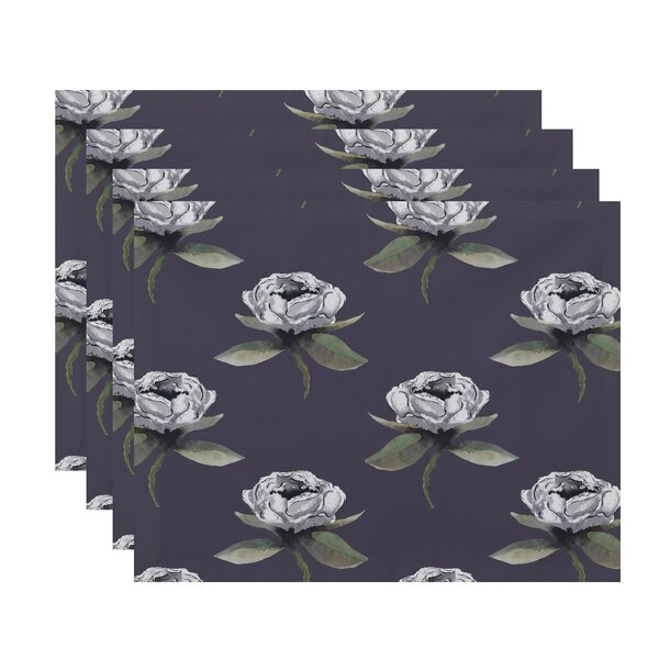 Ladwig Bunch Floral 18 Placemat (Set of 4) by Winston Porter