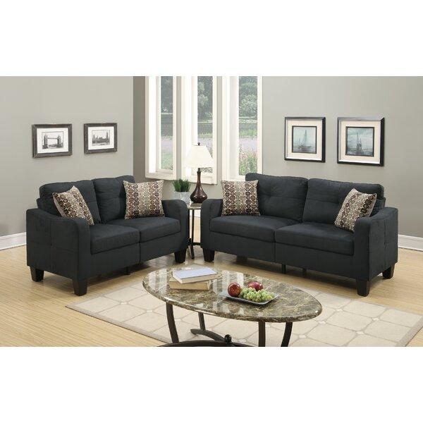 Lincon 2 Piece Living Room Set by A&J Homes Studio