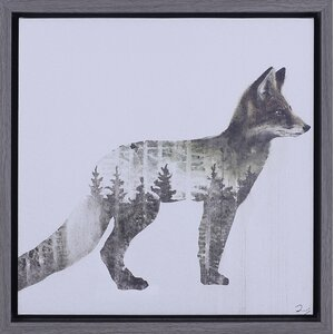'Fox' Framed Graphic Art Print by Union Rustic