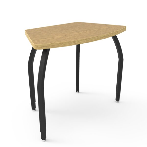 Elo Wood Adjustable Height Collaborative Desk by WB Manufacturing