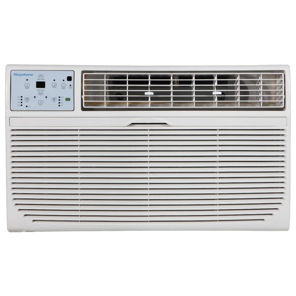 8,000 BTU Through the Wall Air Conditioner with Remote by Keystone