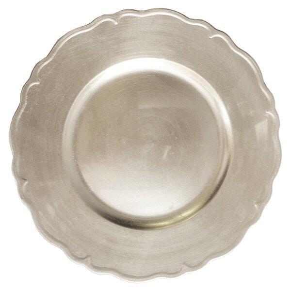 13 Melamine Tessa Charger Plate (Set of 4) by Design Guild