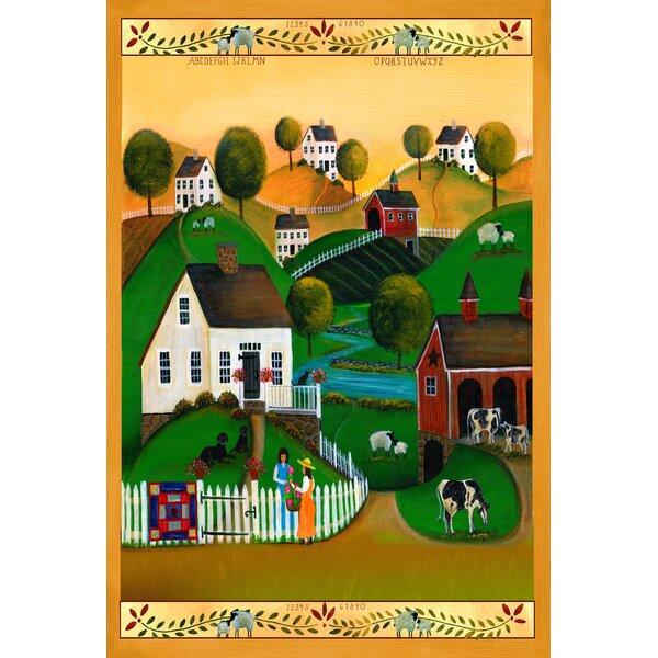 Country Neighbors Garden flag by Toland Home Garden