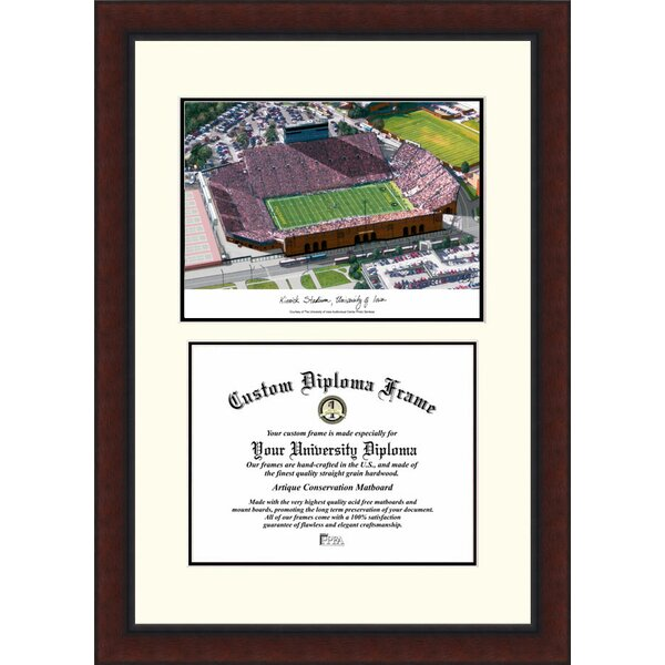NCAA Lowa University Legacy Scholar Diploma Picture Frame by Campus Images
