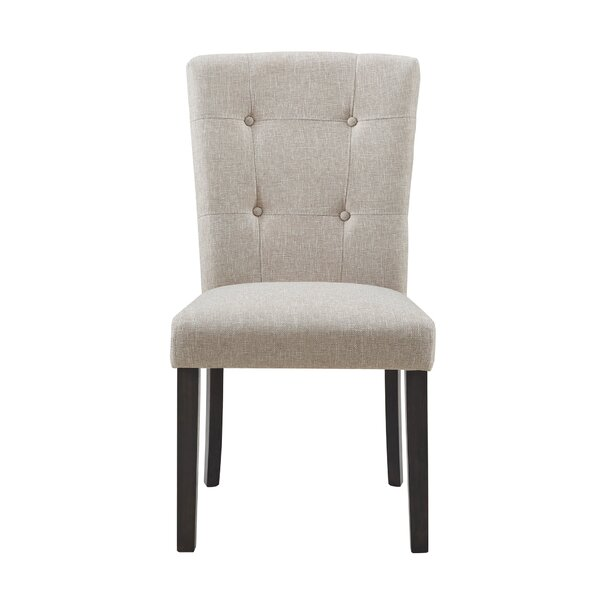Willoughby Upholstered Dining Chair (Set of 2) by Rosdorf Park