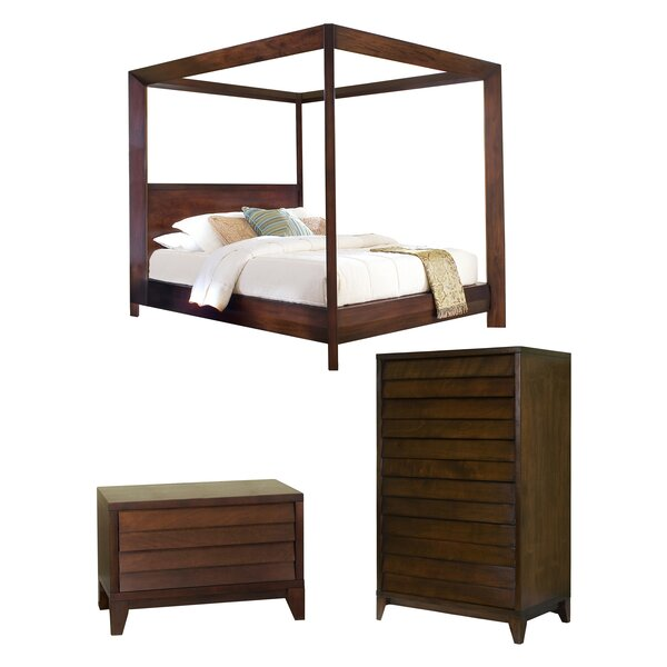 Blaine Canopy Configurable Bedroom Set by Bayou Breeze