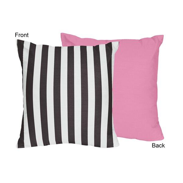 Paris Throw Pillow by Sweet Jojo Designs