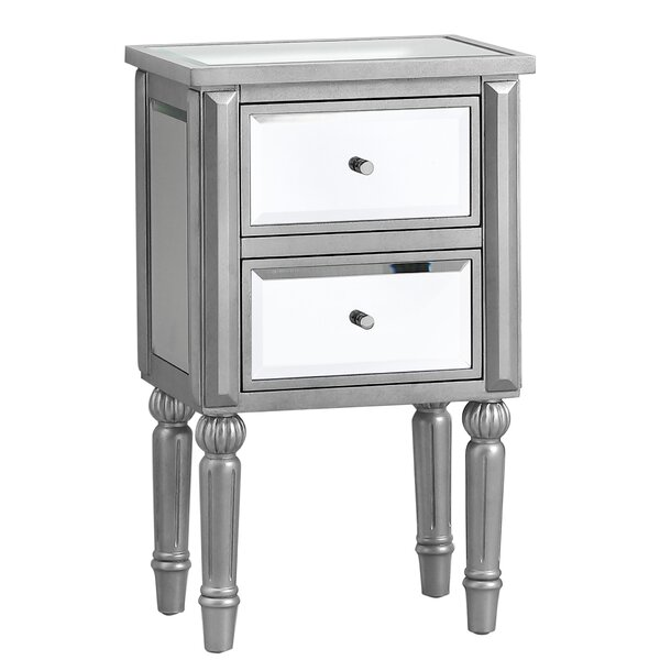 Beachmere 2 Drawer Nightstand by Rosdorf Park