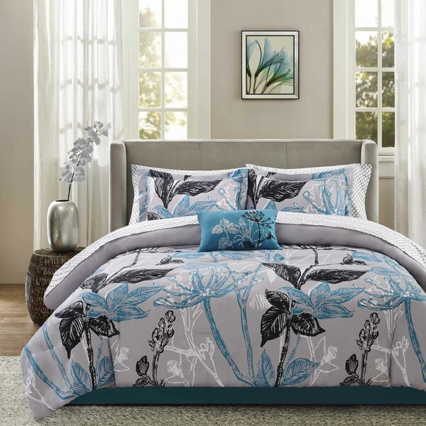 Jesse Complete Comforter and Cotton Sheet Set by Latitude Run