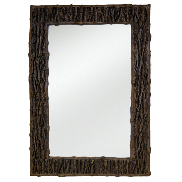 Tree Bark Wall Mirror by Hickory Manor House
