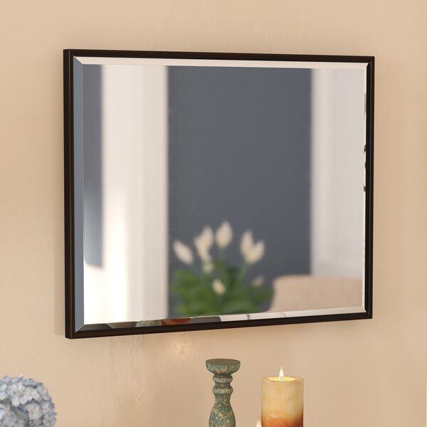 e59293cea8035 💥 Sale Traditional Rectangle Bronze Wall Mirror By Three Posts ✓