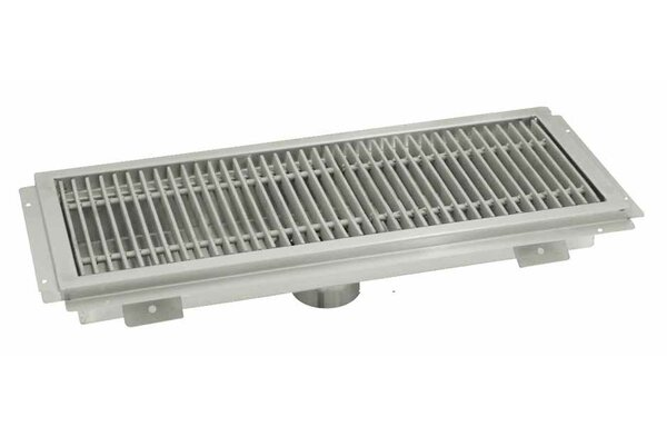 Floor Water Receptacle Grid Shower Drain by Advance Tabco