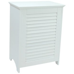 Check Prices Louvered Front Cabinet Laundry Hamper ByRedmon
