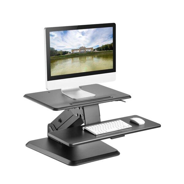 24 Compact Riser Height Adjustable Standing Desk