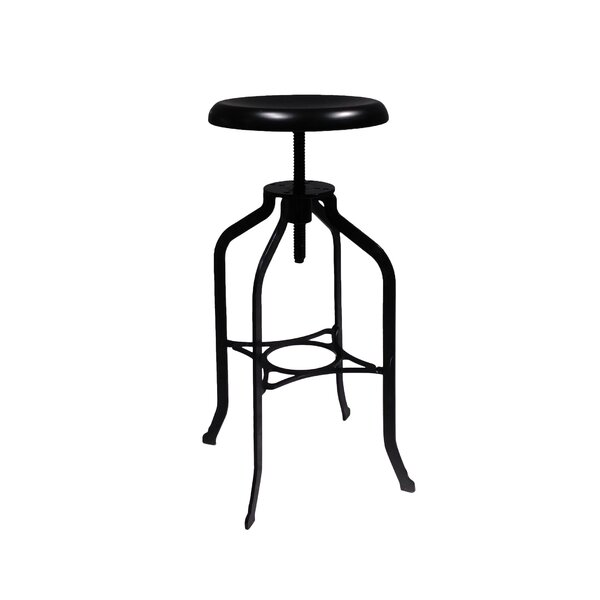 Octu Adjustable Height Swivel Bar Stool by Mobital
