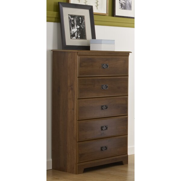 Ashland 5 Drawer Chest by Lang Furniture