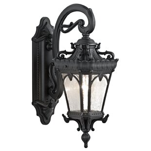 Compare Guzzi 1-Light Outdoor Wall Lantern By Fleur De Lis Living