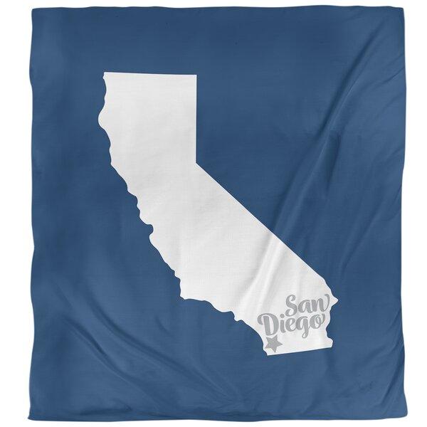San Diego Sports Colors Duvet Cover