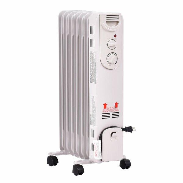 1,500 Watt Electric Convection Radiator Heater By Setemi