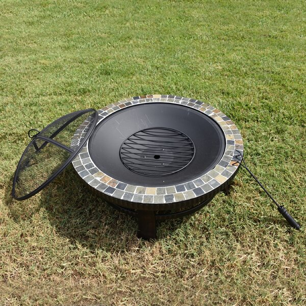 Cast Iron Wood Burning Fire Pit by Astella