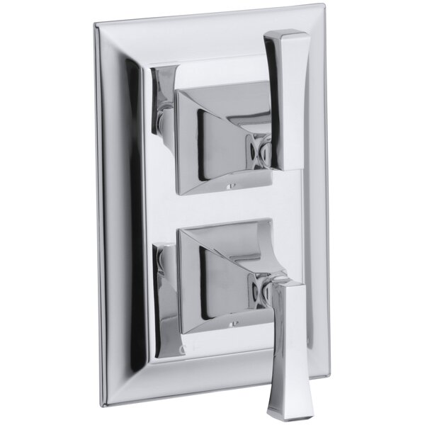 Memoirs Stately Valve Trim with Deco Lever Handles for Stacked Valve by Kohler