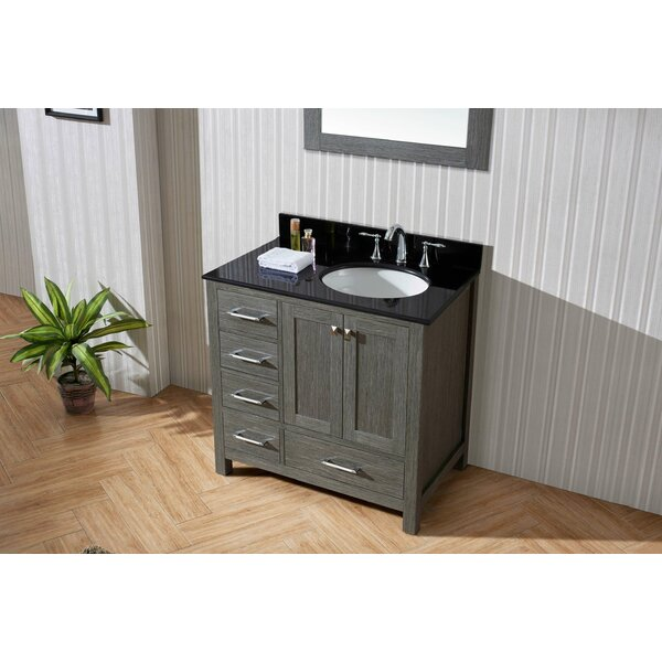 Hamden 35 Single Bathroom Vanity Set with Mirror by Greyleigh