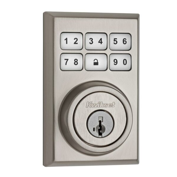 Smartcode Touchpad Electronic Deadbolt with Smartkey by Kwikset