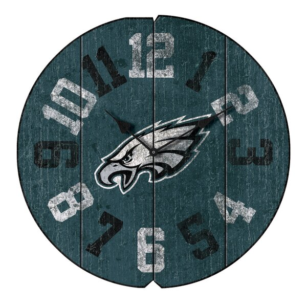 NFL Team Vintage Round 16 Wall Clock by Imperial International
