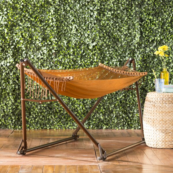 Scotts Valley Portable Nylon Camping Hammock with Stand by Bloomsbury Market
