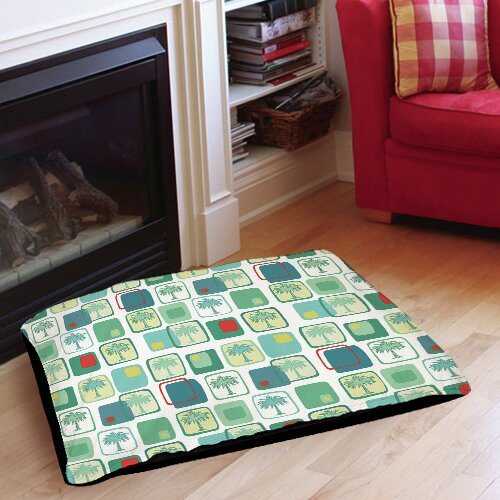 Deco Palm Indoor/Outdoor Pet Bed by Manual Woodworkers & Weavers