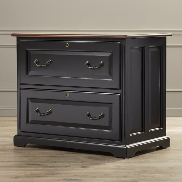 Bateman 2 Drawer Locking Filing Cabinet by Darby Home Co