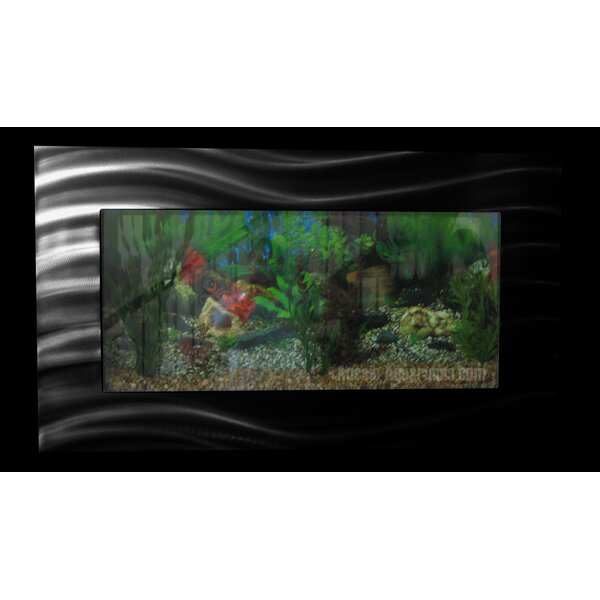 Aussie 10.25 Gallon Wall Mounted Aquarium Tank by Vandue Corporation