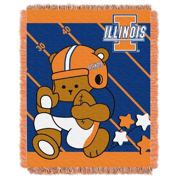 Collegiate Illinois Baby Throw by Northwest Co.