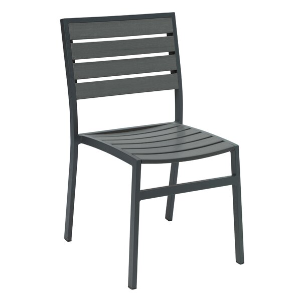 Eveleen Stacking Patio Dining Chair by KFI Seating