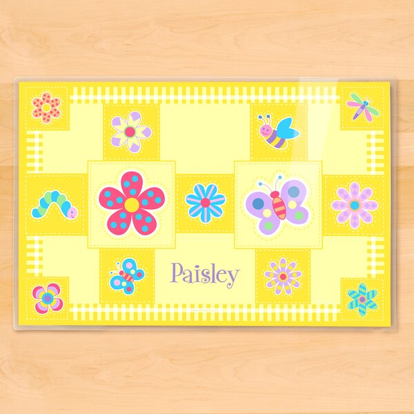 Flower Land Personalized Placemat by Olive Kids