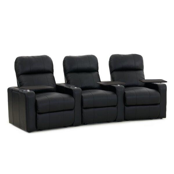 Home Theater Sofa (Row Of 3) By Latitude Run