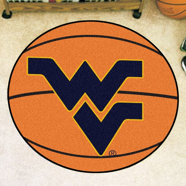NCAA West Virginia University Basketball Mat by FANMATS