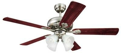 52 Jensen 5 Reversible Blade Ceiling Fan by Latitude Run