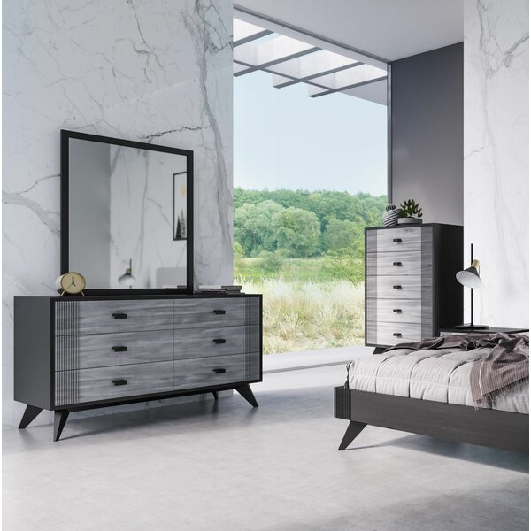 Donham 6 Drawer Double Dresser by Ivy Bronx