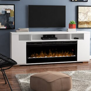 Barnett Soundbar TV Stand for TVs up to 75 with Fireplace
